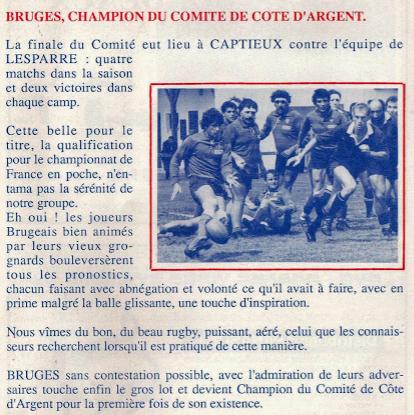 Finale Côte Argent 89